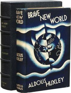 Brave New World by Aldous Huxley. Wonderful read.