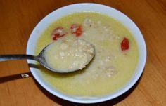 Σούπα με ξινόχοντρο - cretangastronomy.gr Cheeseburger Chowder, Pudding, Desserts, Recipes, Soups, Tailgate Desserts, Deserts, Custard Pudding, Postres
