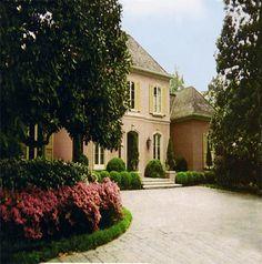 French Provincial style via: Millard & Stevens Architects