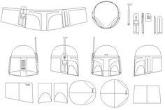 Casco romano molde