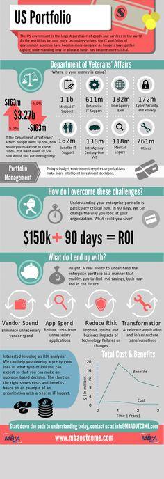 VA Portfolio Infographic