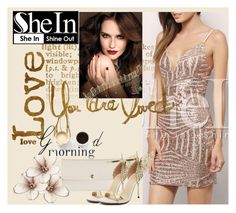 """SheIn VIII/3"" by ena-ena ❤ liked on Polyvore featuring мода, Rachel и Lulu*s"