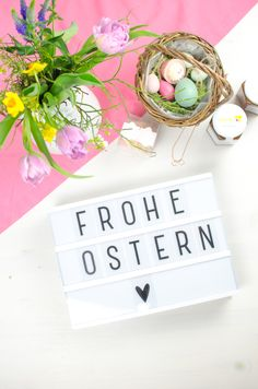 OSTER GESCHENKIDEEN - MIT 58PRODUCTS!  andysparkles Happy Easter, Easter Bunny, Easter Eggs, Easter Holidays, Diy Interior, Interior Inspiration, Blog, Quote, Beauty