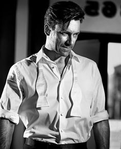 "bohemea: ""Jon Hamm - GQ UK by Vincent Peters, October 2010 This is my favourite picture of Jon Hamm. Jon Hamm, Attractive Men, Man Crush, Gorgeous Men, Beautiful People, Actors & Actresses, Hot Guys, David Gandy, Man Alive"