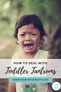 How to Deal with Toddler Tantrums. What to do in the moment when your toddler is having a tantrum and how to prevent toddler tantrums in the future. Parenting Toddlers, Parenting Books, Gentle Parenting, Parenting Advice, Peaceful Parenting, Help Baby Sleep, Toddler Sleep, Toddler Chores, Toddler Boys