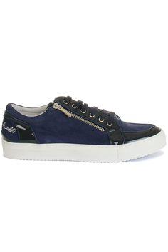 Hippe Botticelli limited Botticelli Sneaker (blauw) Heren sneakers van het merk botticelli limited . Uitgevoerd in blauw.