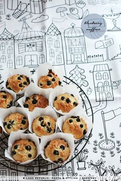 #DIY Blueberry Muffins