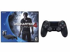 PlayStation 4 Slim 500GB Console Uncharted 4Bundle + PS4 Controller