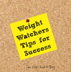 20 Tips for Success with the Weight Watchers Program. #WeightWatchers