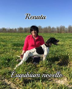 Posa da punta per Eugubium novello e una più rilassata per la sua umana Renata #MyDogAndMe