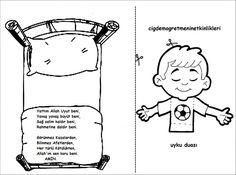 Uyku Duası - Okul Öncesi Etkinlik Kaynağınız - Okul Öncesi Etkinlik Kaynağınız