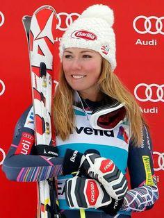 Mikaela SHIFFRIN 13/03/95 USA 2018 Winter Olympics, Usa Olympics, Olympic Athletes, Olympic Team, Ski Sunday, Mikaela Shiffrin, Alpine Skiing, Ski Ski, Riders On The Storm