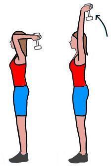 """Débarrassez-vous de l'aspect mou de vos bras: cet exercice est excellant pour vous musclé les bras et vous débarrasser des """"bras de chauve souris""""...."""