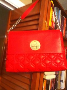 I bought this crossbody Lucky bag this fall. Had to have a brown ... : kate spade red quilted bag - Adamdwight.com