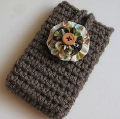 Crochet Cell Phone iPod iPhone