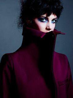 Katryn Kruger - Feed your head - Dazed July 2012   Kacper Kasprzyk  www.totalworld.us  via dazeddigital.com    for #motion #makeup