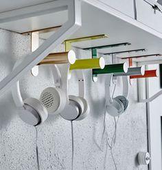 IKEA Ideas - GRUNDTAL tuvalet kağıtlığının farklı yerlerde kullanımları