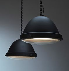 Industrial Style Lamps by Jacco Maris