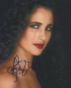Andie MACDOWELL More Vintage Hollywood, Hollywood Glamour, Hollywood Stars, Hollywood Actresses, Classic Hollywood, Fashion Week, Fashion Models, Fashion Beauty, Andie Macdowell