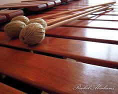If I have a good piece to play, I could play the marimba all day long. <3