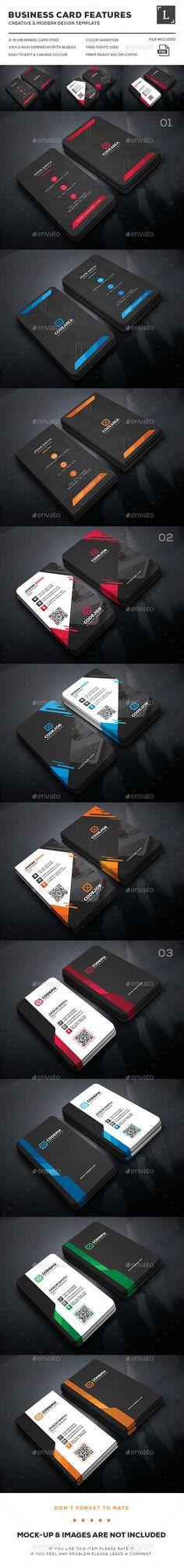 Dark Business Card Bundle