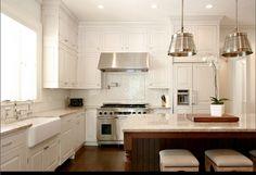 Drömköket – L-formade kök med vita luckor (här är 21 fina L-kök) | Sköna hem
