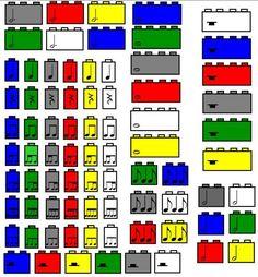 Elementary Music Resources: LEGO Rhythms