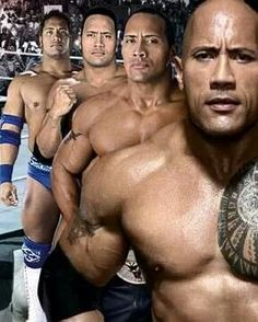 ♥♥ Dwayne Johnson's evolution to the WWE Superstar status