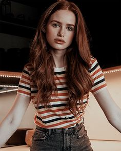 Image about girl in riverdale cast / cole sprouse by do not disturb Cheryl Blossom Riverdale, Riverdale Cheryl, Riverdale Cast, Madelaine Petsch, Pretty People, Beautiful People, Vanessa Morgan, Photo Portrait, Girl Crushes