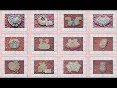6 recuerdos para bautizos tejidos a crochet de la mano de Patty Hübner - Innatia.com