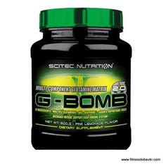 Scitec nutrition g bomb 2.0 e хранителна добавка, която съдържа патентована глутаминова матрица, състояща се от четири вида глутамин.