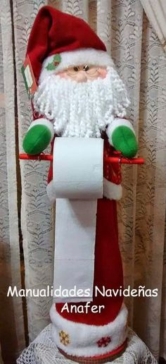manualidades navideñas Más Christmas Sewing, All Things Christmas, Christmas Home, Christmas Projects, Diy And Crafts, Christmas Crafts, Christmas Ornaments, Felt Christmas Decorations, Holiday Decor