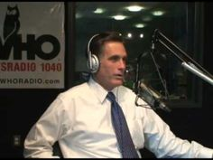 """Mitt Romney caught on """"hidden camera"""". After the first 10 minutes of him doing his on air Romney-bot schtick, he turns into actually a natural guy, someone who I would totally have over for dinner. And vote against vehemently, still!"""