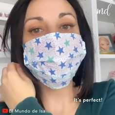 Sewing Hacks, Sewing Tutorials, Tutorial Sewing, Dress Tutorials, Sewing Projects, Proper Hand Washing, Easy Face Masks, Best Diy Face Mask, Creation Couture