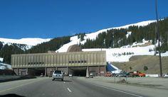 Eisenhower Tunnel Colorado