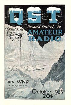 WNP (Wireless North Pole), QST magazine, 1923, October issue