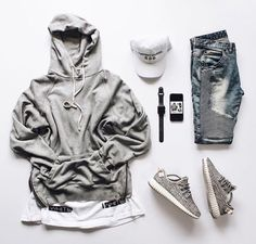 Simple Hype Grid fortunate world Komplette Outfits, Dope Outfits, Casual Outfits, Men Casual, Fashion Outfits, Mode Masculine, Mode Hip Hop, Urban Fashion, Mens Fashion