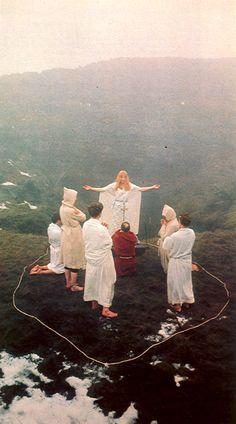 "Maxine Sanders, Dawn Ritual, 1969 From ""Man, Myth and Magic"" 1970"