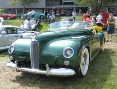 https://flic.kr/p/2J7tYC | Maverick Sportster - 1953 | Art Center Car Classic. Fiberglass body. One of seven built in 1954 by Maverick Motors of Mountain View, CA.