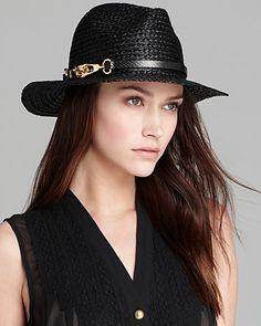 Rachel Zoe Straw Fedora | Bloomingdale's #LETYOURSELFGO Straw Fedora, Cool Hats, Rachel Zoe, Jewelry Accessories, Fashion Jewelry, Shopping, Summer Time, Bags, Dope Hats
