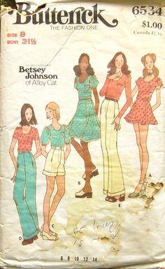 Betsey Johnson 1970's pattern