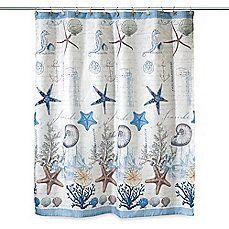 image of Avanti Antigua 72-Inch x 72-Inch Fabric Shower Curtain