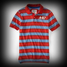 エアロポステール メンズ ポロシャツ Aeropostale A87 Multi Stripe Jersey Polo ポロシャツ-アバクロ 通販 ショップ-【I.T.SHOP】 #ITShop