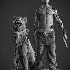 Dark Matter #dark #matter #darkmatter #keyshot #character #sculpture #creature #art #artwork #3dmodeling #sculpt #concept #robot #bot #mechanic #mech #mecha #print #3dprinting #gangsta #gangster #hyena #animal #android #cyborg #drugs