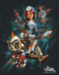 space cats by ~DESEO-ONE on deviantART