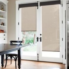 Shop Unique Window Treatment Idea For French Doors Products on Houzz