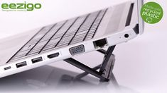 eezigo Designed for mobility Eco-Friendly Laptop Stand   The Recycled Portable, Compact, Adjustable, Ergonomic Ultra Lightweight Laptop Stand: Amazon.co.uk: Kitchen & Home