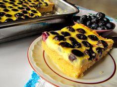Gotowanie jest łatwe: Ciasto z borówkami
