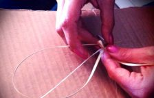 Different bear grass weaving pictures