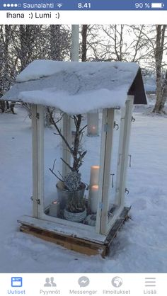 Gazebo, Candle Holders, Outdoor Structures, Candles, Silver, Christmas, Xmas, Kiosk, Pavilion